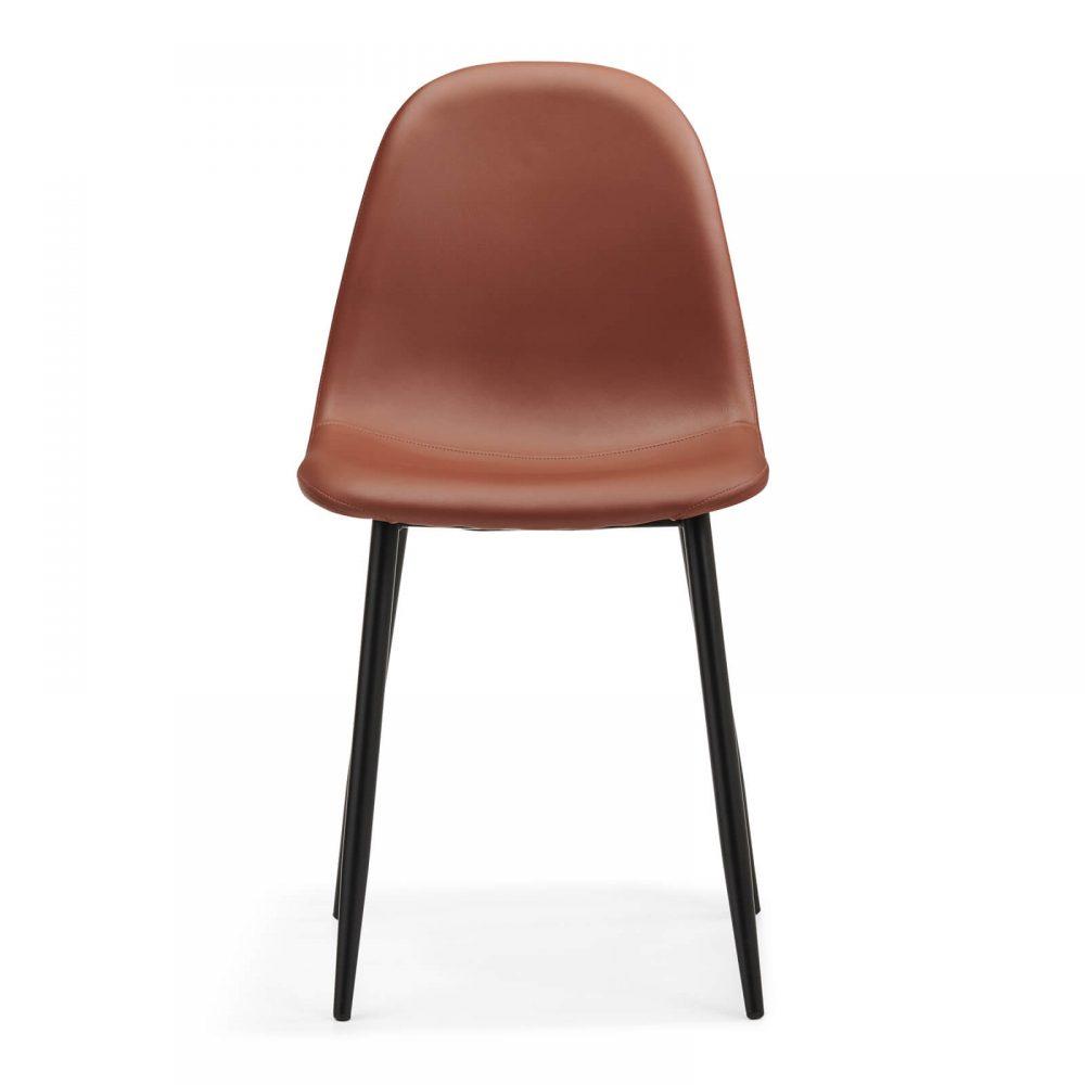 Evdano Chair, Brown