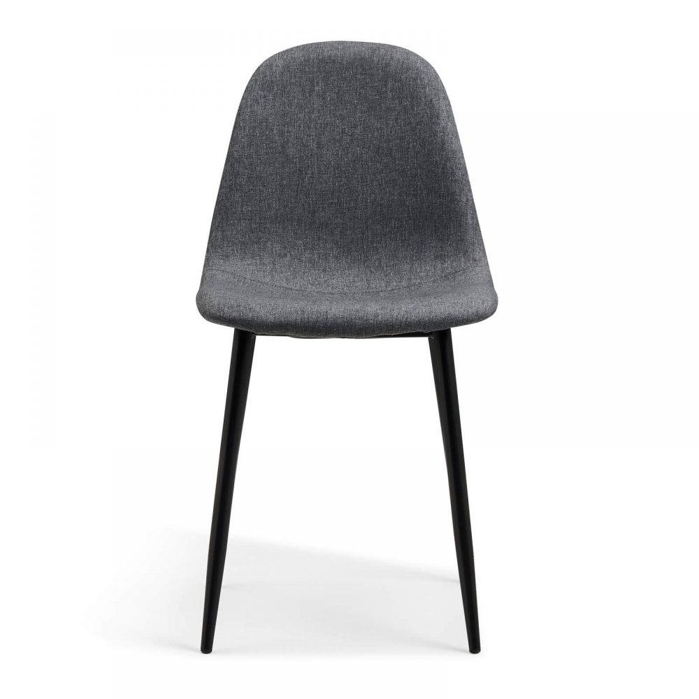 Evdano Chair, Dark Grey